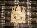 02 Maska - dřevořezba