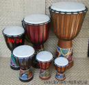 24 Dřevěný buben - Djembe  40 cm