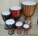 25 Dřevěný buben - Djembe  50 cm