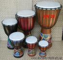 26 Dřevěný buben - Djembe  60 cm