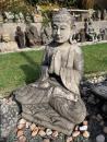 034 Buddha modlící se 60 cm