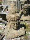 022 Asijský motiv - přírodní kámen - tesáno  70 cm